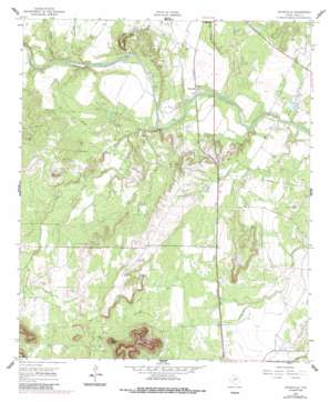 Shawville topo map