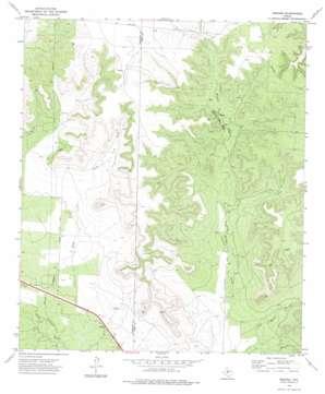 Broome topo map