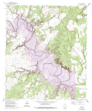 Edith topo map