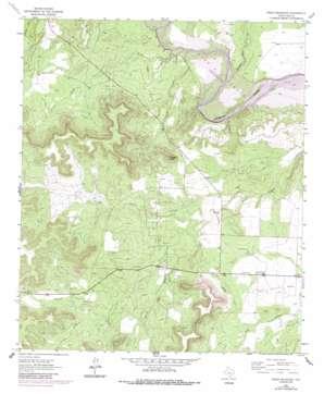 Green Mountain topo map