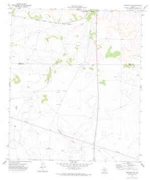 Barnhart Sw topo map
