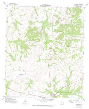 Barnhart topo map