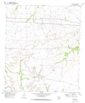Texon topo map
