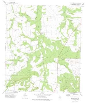 Rocker B Ranch topo map