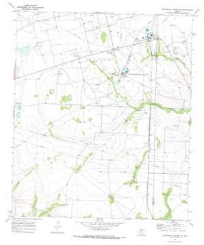 Sevenmile Corner Se topo map