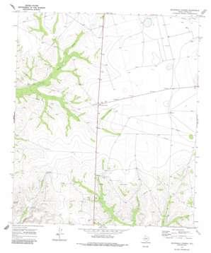 Sevenmile Corner topo map