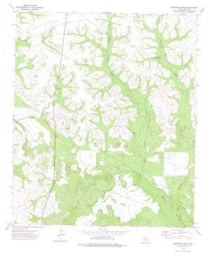 Bradford Draw USGS topographic map 31101d1