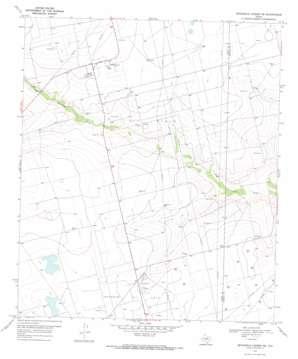 Sevenmile Corner Ne topo map