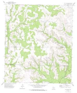 Hay Hollow topo map