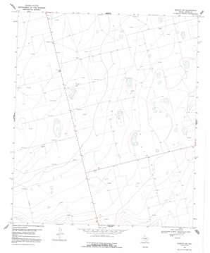 Midkiff Sw topo map