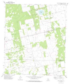 Saint Lawrence topo map