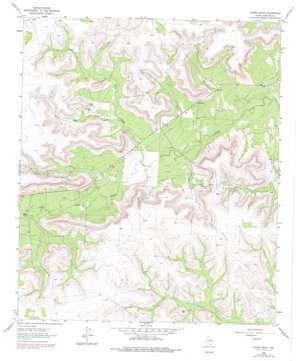 Glass Ranch topo map