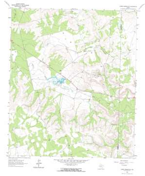 Currie Reservoir topo map