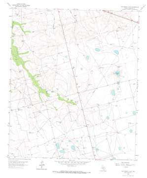 Patterson Lake topo map