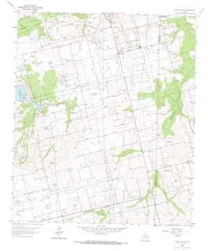 Pecks Lake topo map