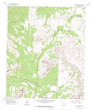 Cumbie Draw Ne topo map