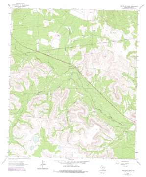 Sand Bluff Draw USGS topographic map 31101h2