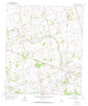 Spraberry topo map