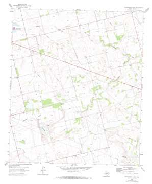 Stephenson Lake topo map