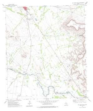 Mccamey South topo map
