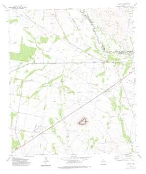 Girvin topo map