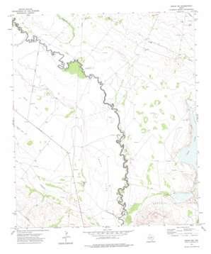 Girvin Nw topo map