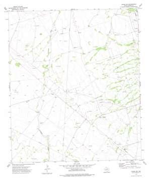 Crane Sw topo map