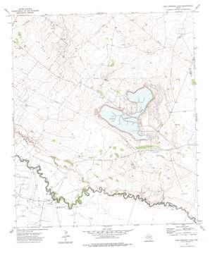 Juan Cordona Lake topo map