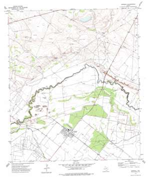 Imperial topo map
