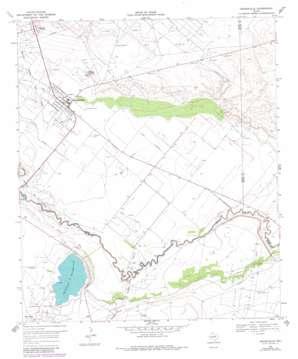 Grandfalls topo map