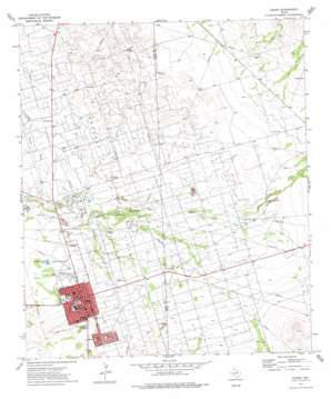 Crane topo map