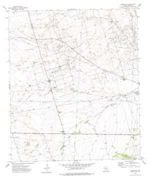 Crane Nw topo map
