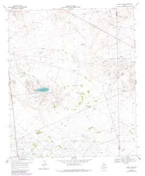 Ozark Lake topo map