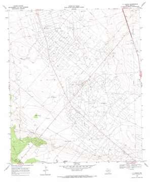 7 L Ranch topo map