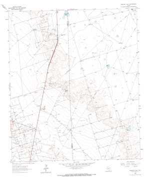 Perkins Lake topo map