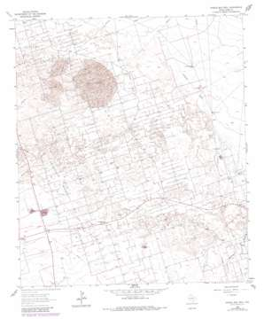 Doodle Bug Well topo map