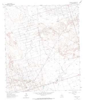 Penwell Se topo map