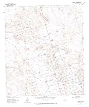 Penwell Sw topo map
