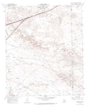 Monahans Se USGS topographic map 31102e7