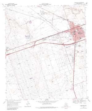 Monahans USGS topographic map 31102e8