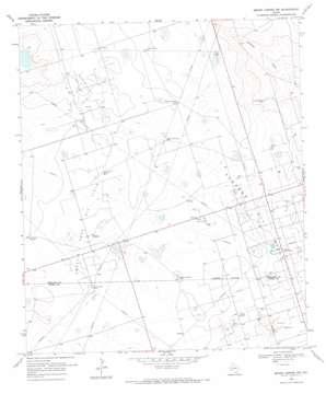 Benge Corner Nw topo map