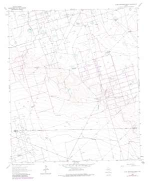 Clark Brothers Ranch topo map
