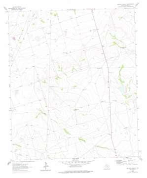 Bryant Ranch topo map
