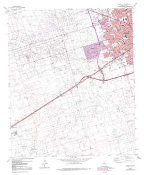 Odessa Sw topo map