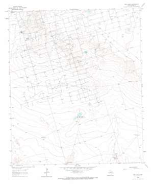 Red Lakes topo map