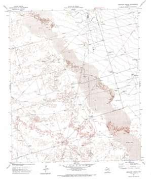 Amburgey Ranch topo map