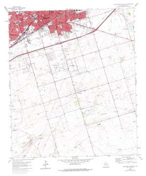 Southeast Midland USGS topographic map 31102h1