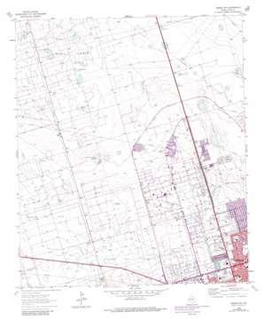 Odessa Nw topo map