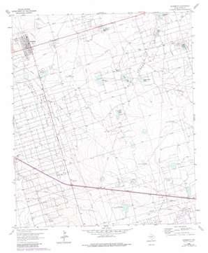 Goldsmith topo map