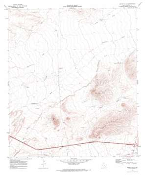 Meier Hills topo map